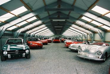 Sports storage olds-mobile cars safe steel metal construction