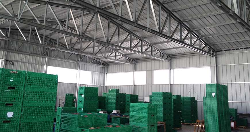 Vegetable Storage Agriculture Steel Structures