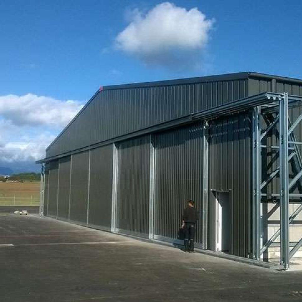 Case Study Aircraft Hangar Industrial Buildings