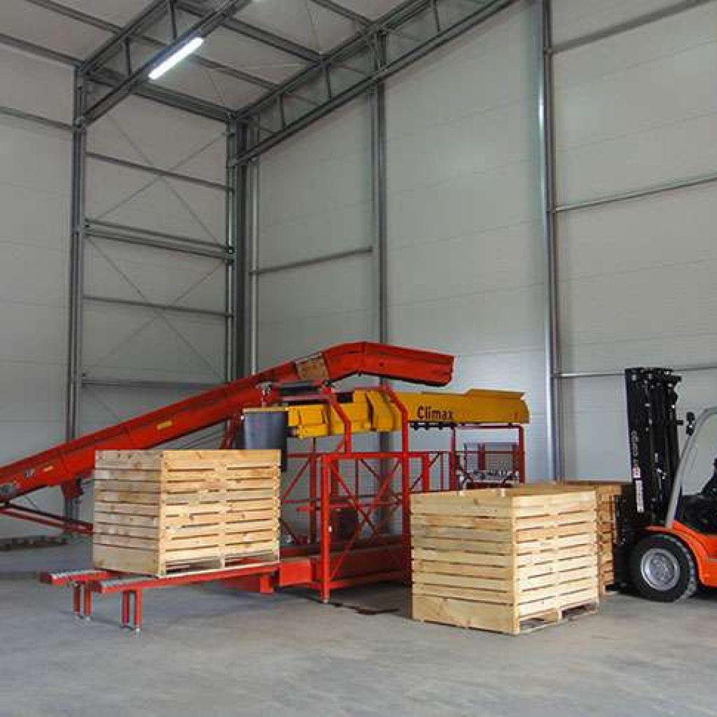 Potato Storage Building Steel Industrial Halls