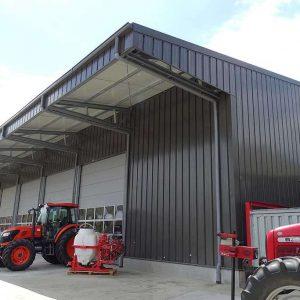 storage buildings agricultural steel halls PEB