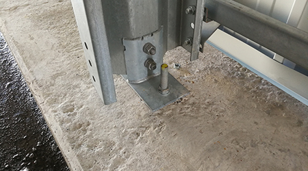 Frisoimat foundation solution on concrete slab
