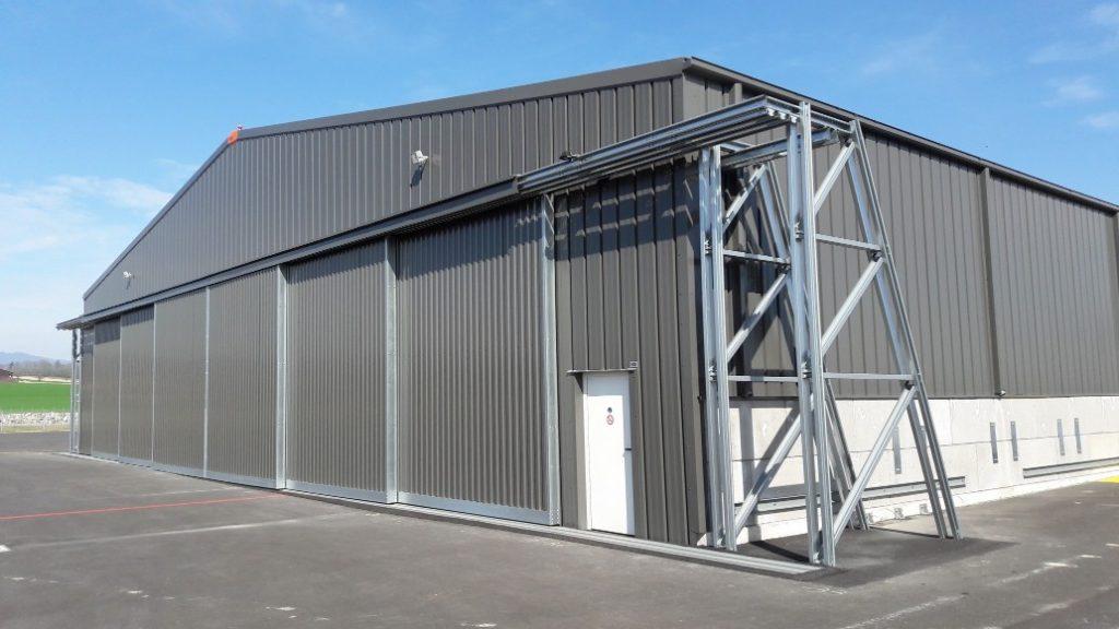 aircraft garage