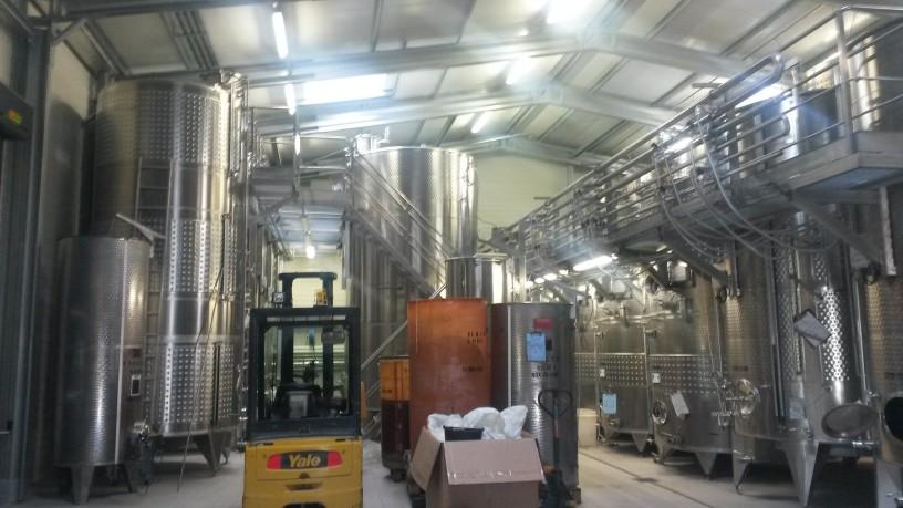 Galvanized steel winery