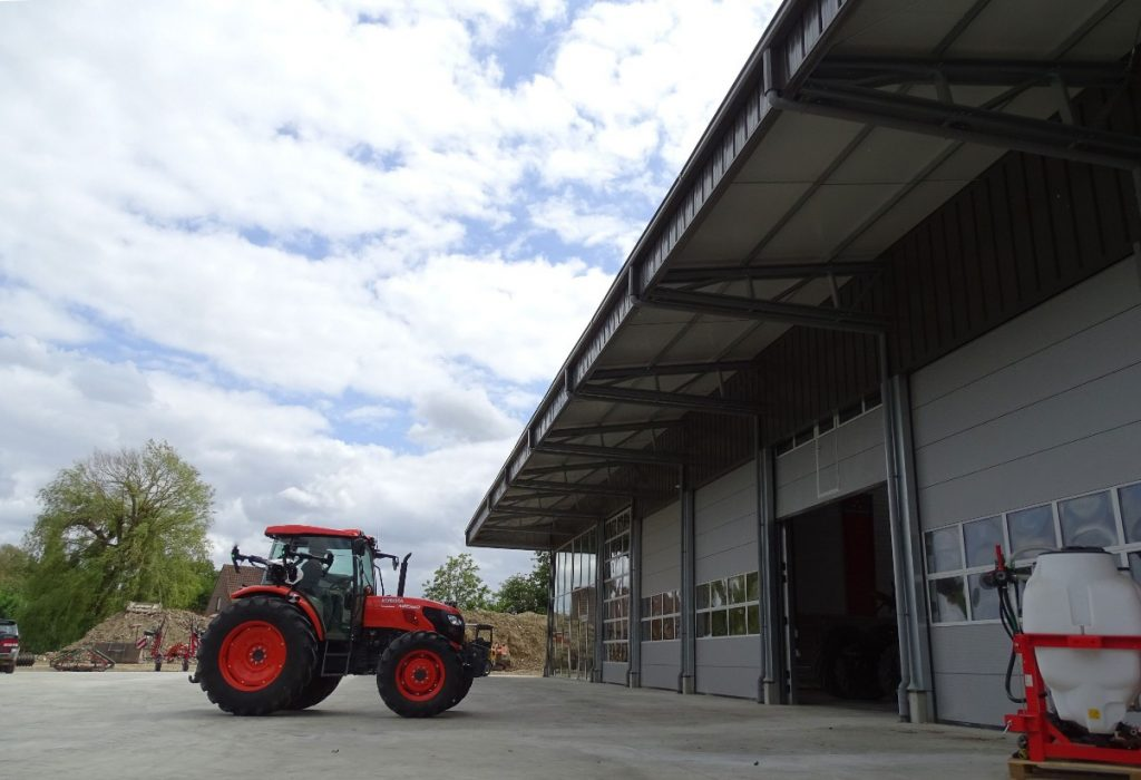 agricultural storage constrction