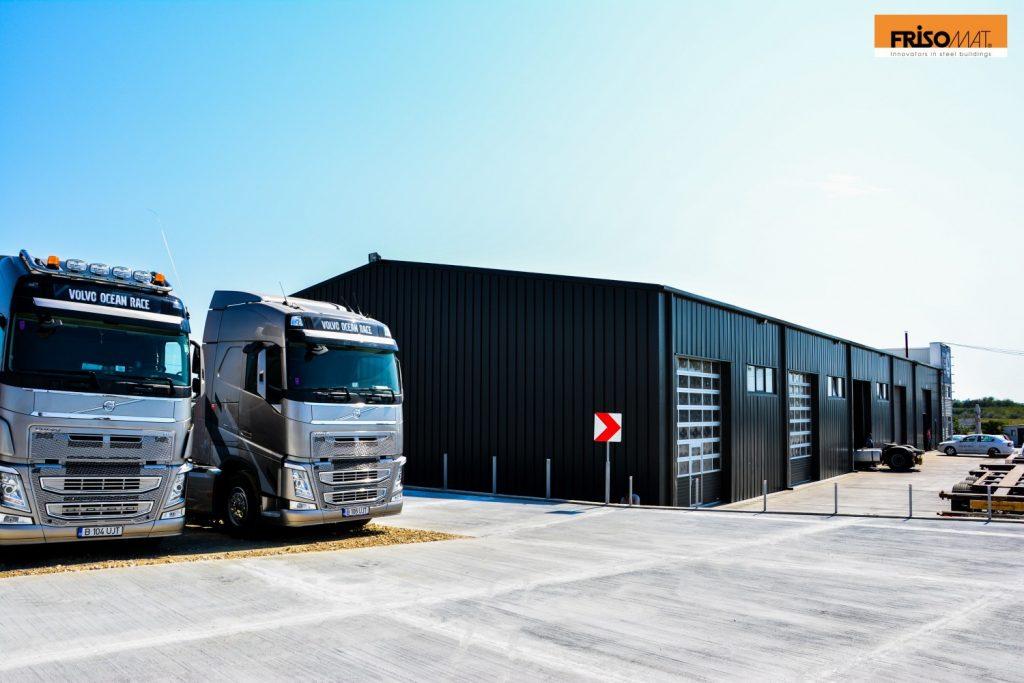 Frisomat warehouses