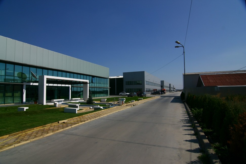 production halls buildings