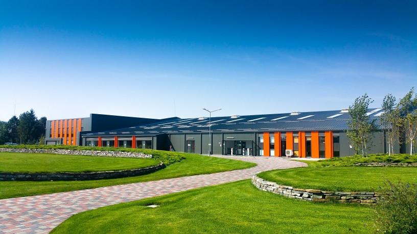 Frisomat production halls Belgium