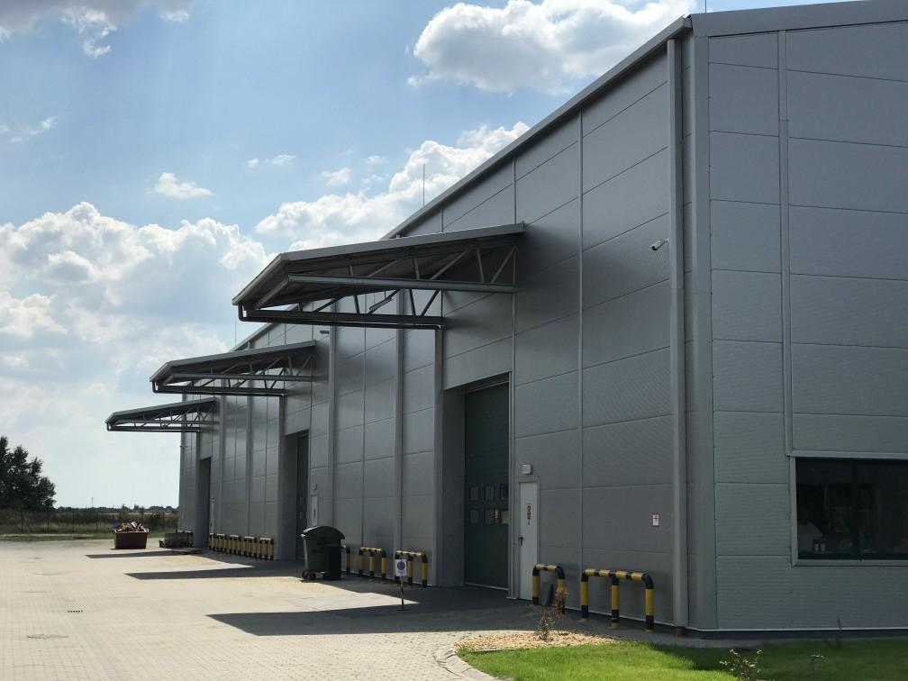 production halls solutions Belgium