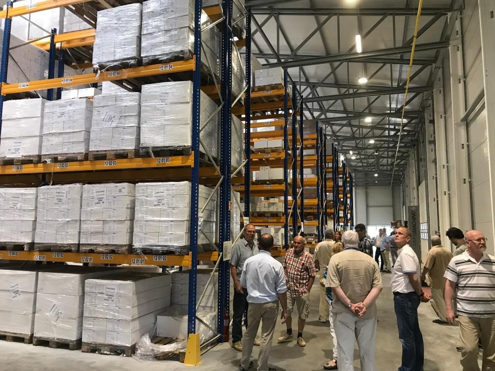 solar Warehouses Belgium
