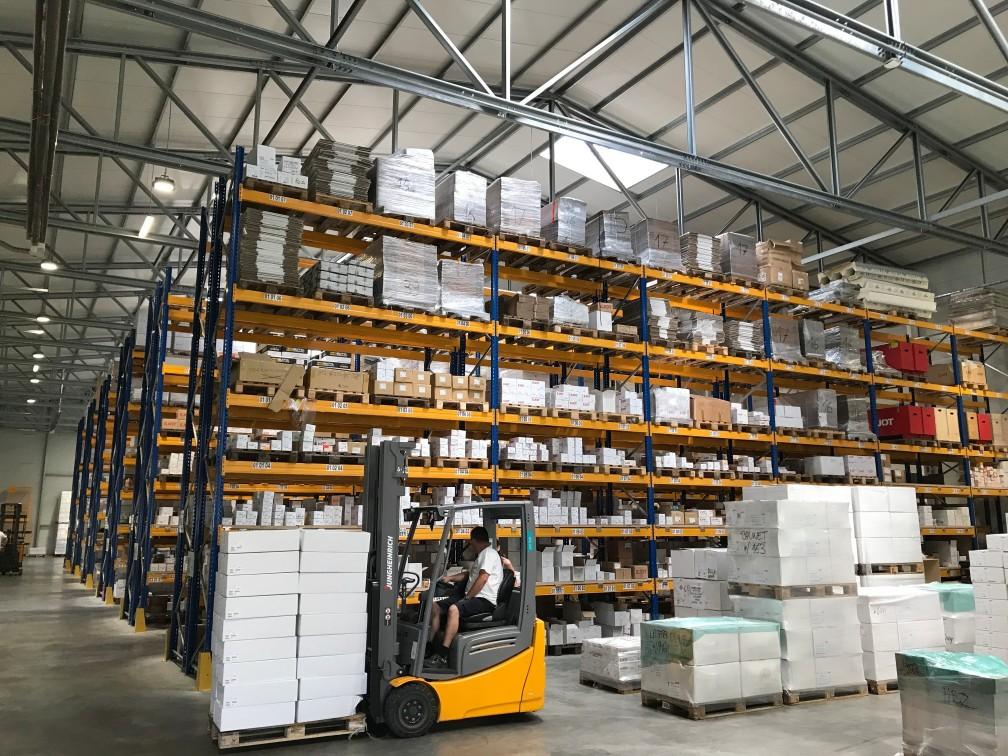 warehouse builders Belgium