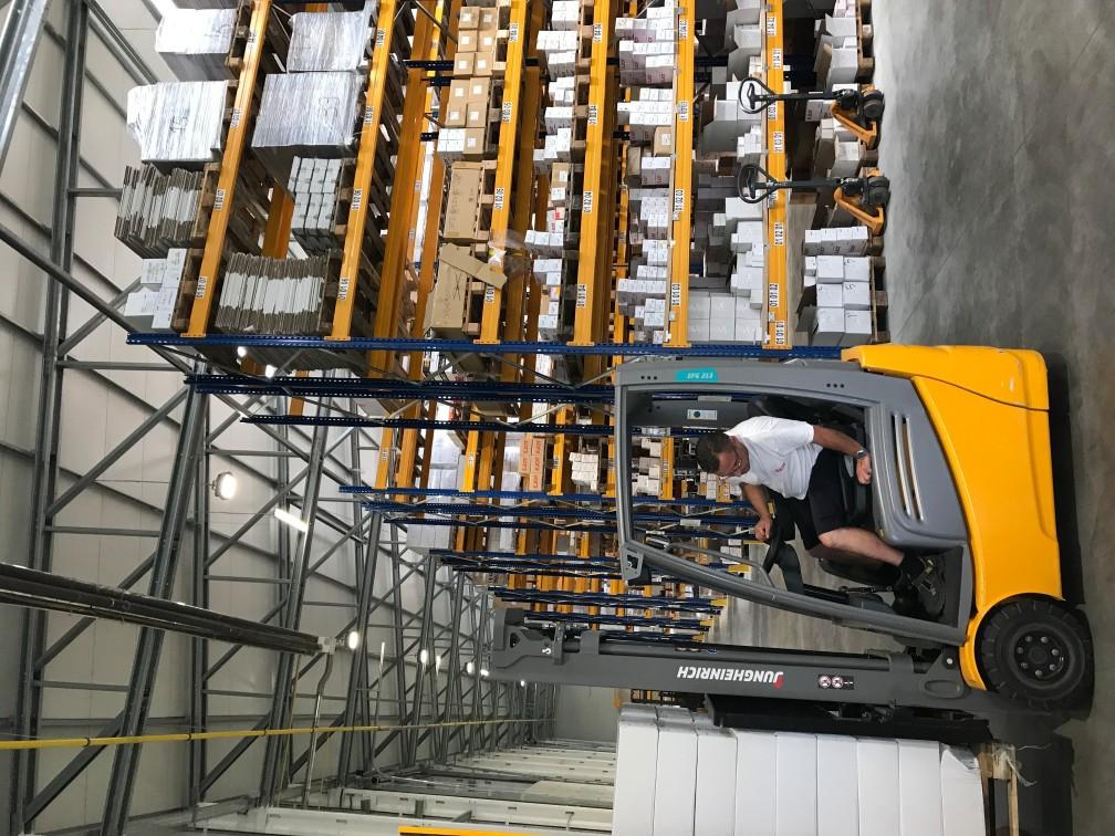 Frisomat Warehouses Belgium