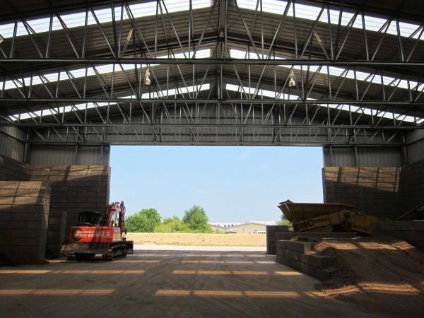 Steel Bulk Storage Buildings