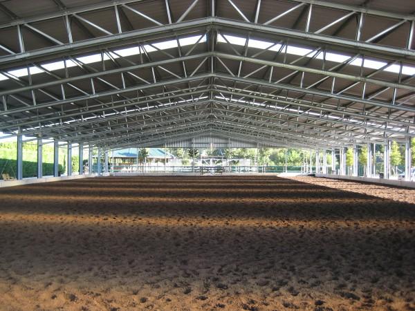 horse arena estimate