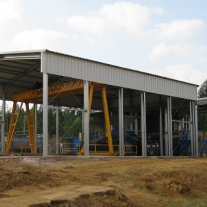 Insulated Recycling Buildings